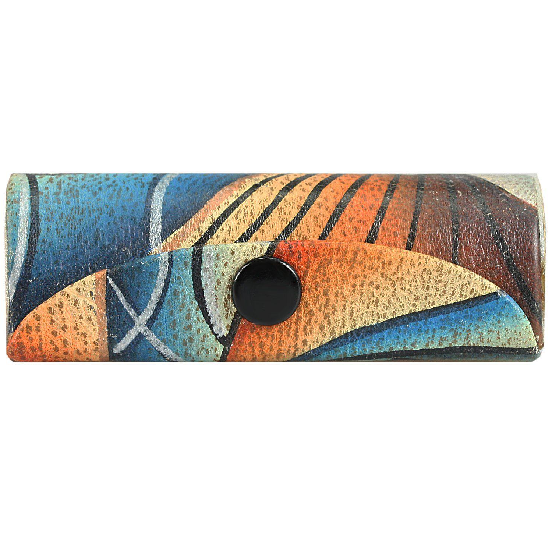 GREENLAND Art + Craft Lip-Stick-Etui Kosmetiketui Leder 8 cm