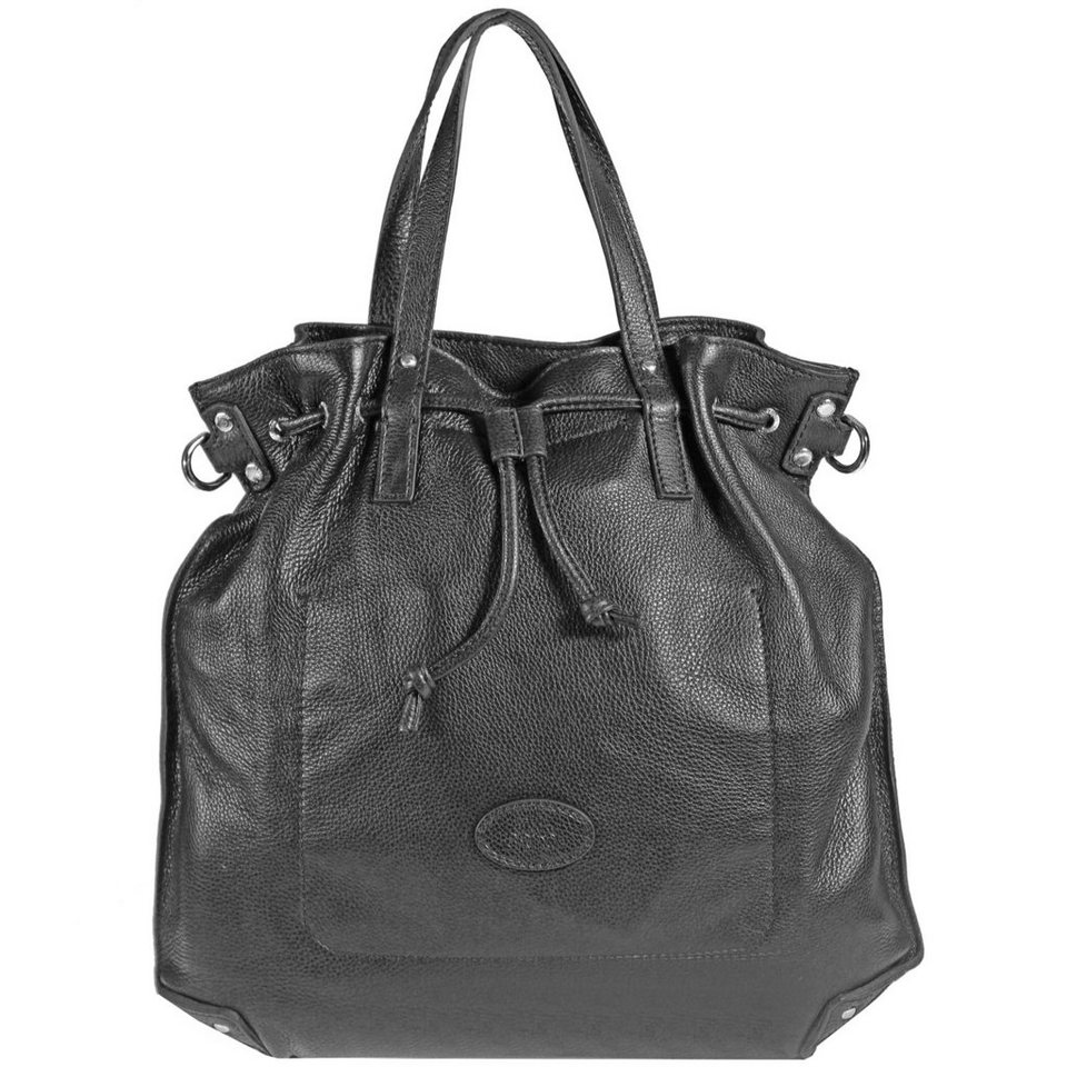 The Bridge The Bridge Unica Shopper Leder 44 cm in nero