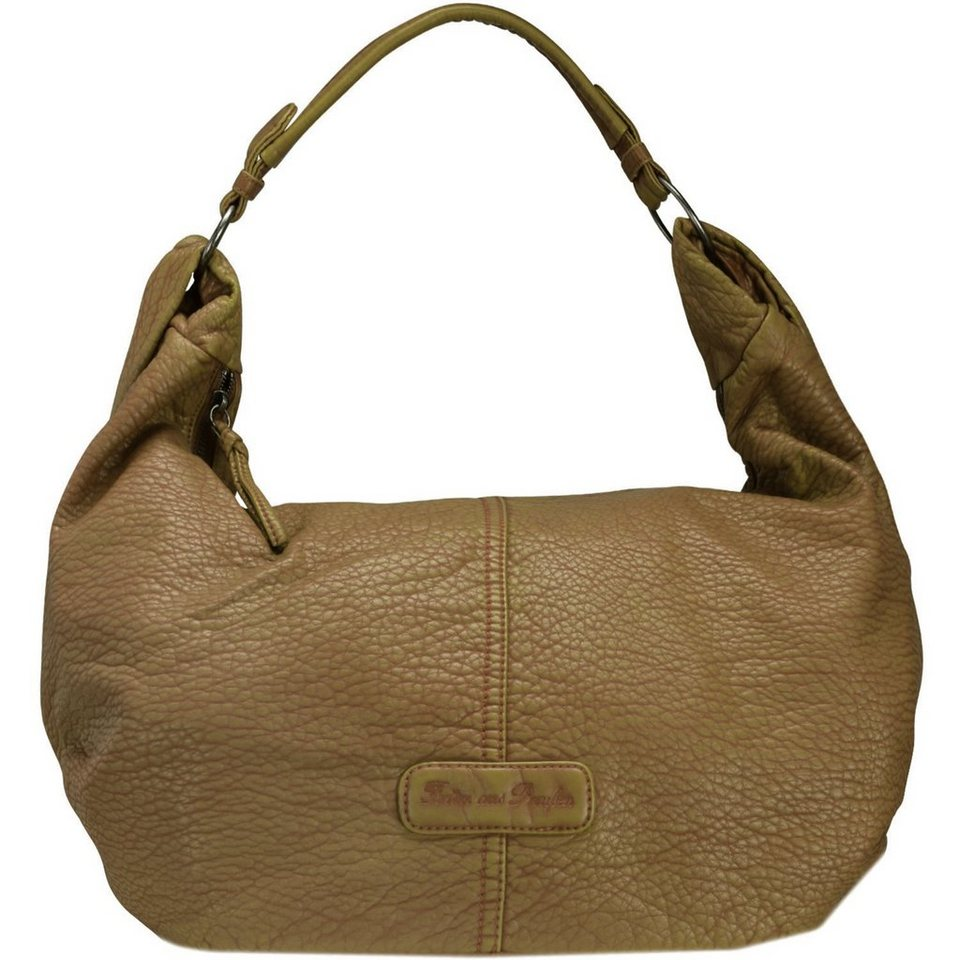 Fritzi aus Preußen Fritzi aus Preußen Marla Washed Handtasche 43 cm in khaki