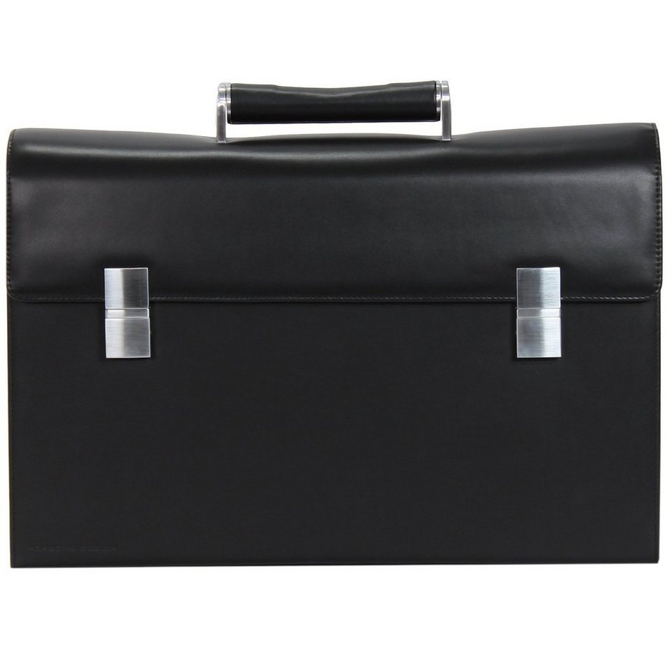 porsche design classic line briefbag fm aktentasche leder. Black Bedroom Furniture Sets. Home Design Ideas