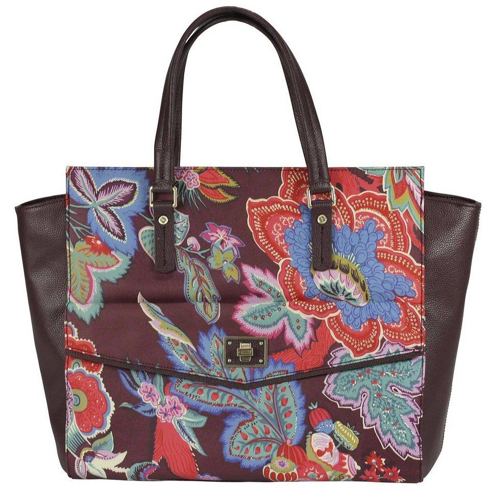 Oilily Shopper Tasche 48 cm Laptopfach in burgundy