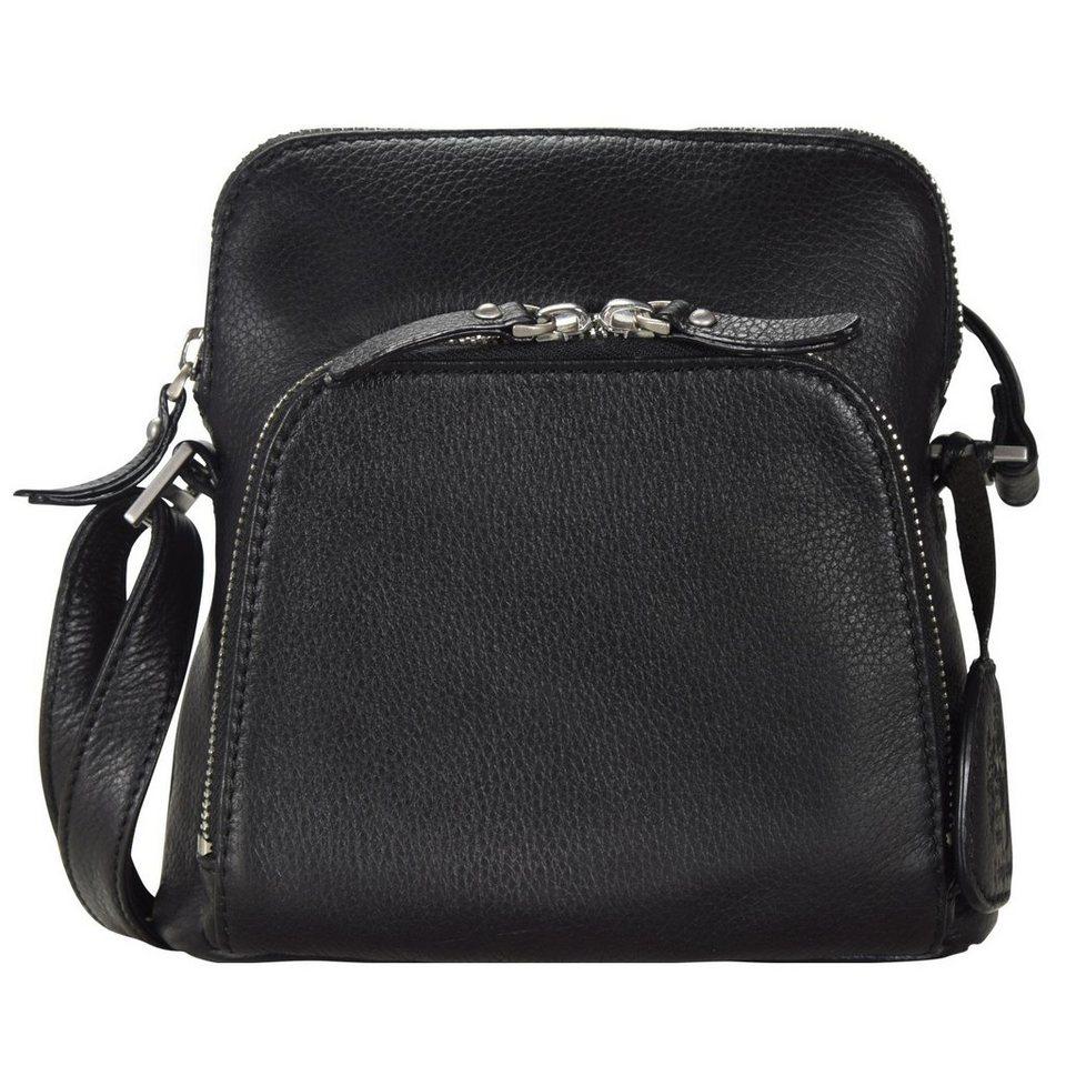 Leonhard Heyden Montpellier Handtasche Leder 18 cm in schwarz