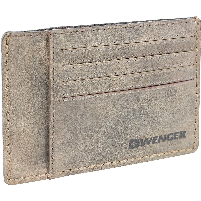 Wenger Stonehide Visitenkartenetui Leder 12,5 cm