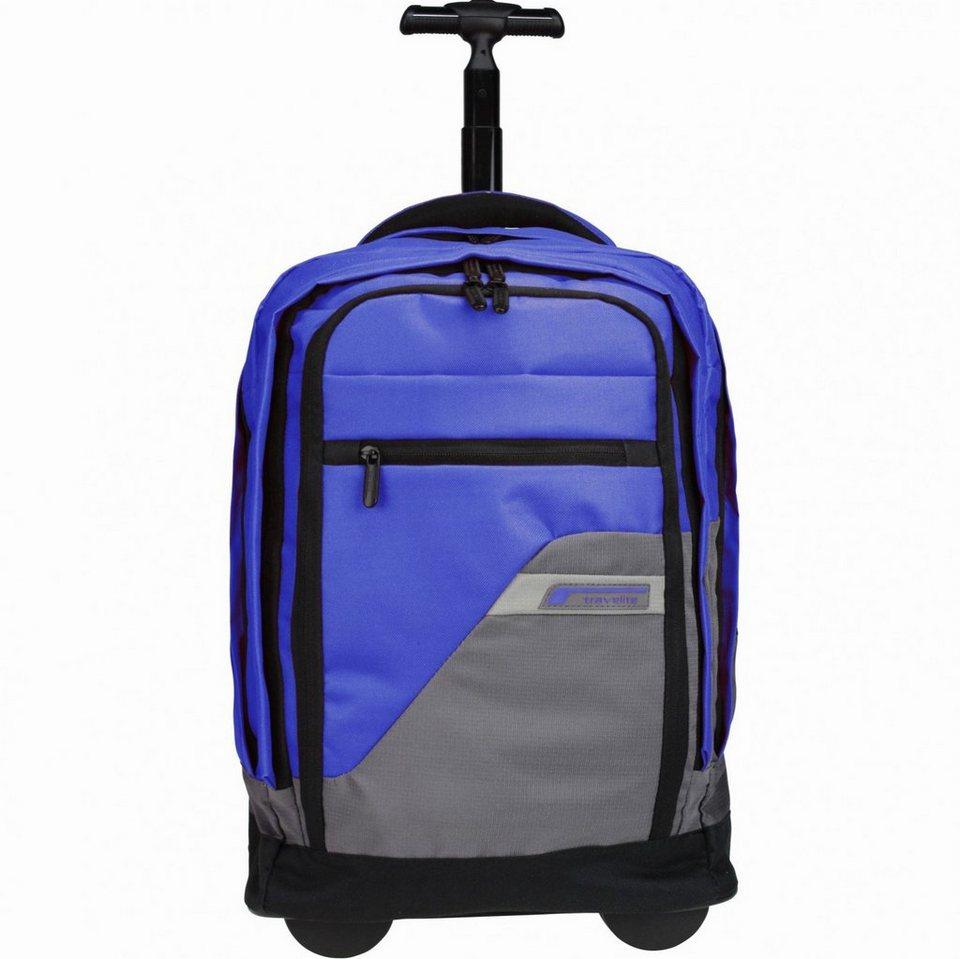travelite Kick-Off Rucksack-Trolley 50 cm Laptopfach in marine