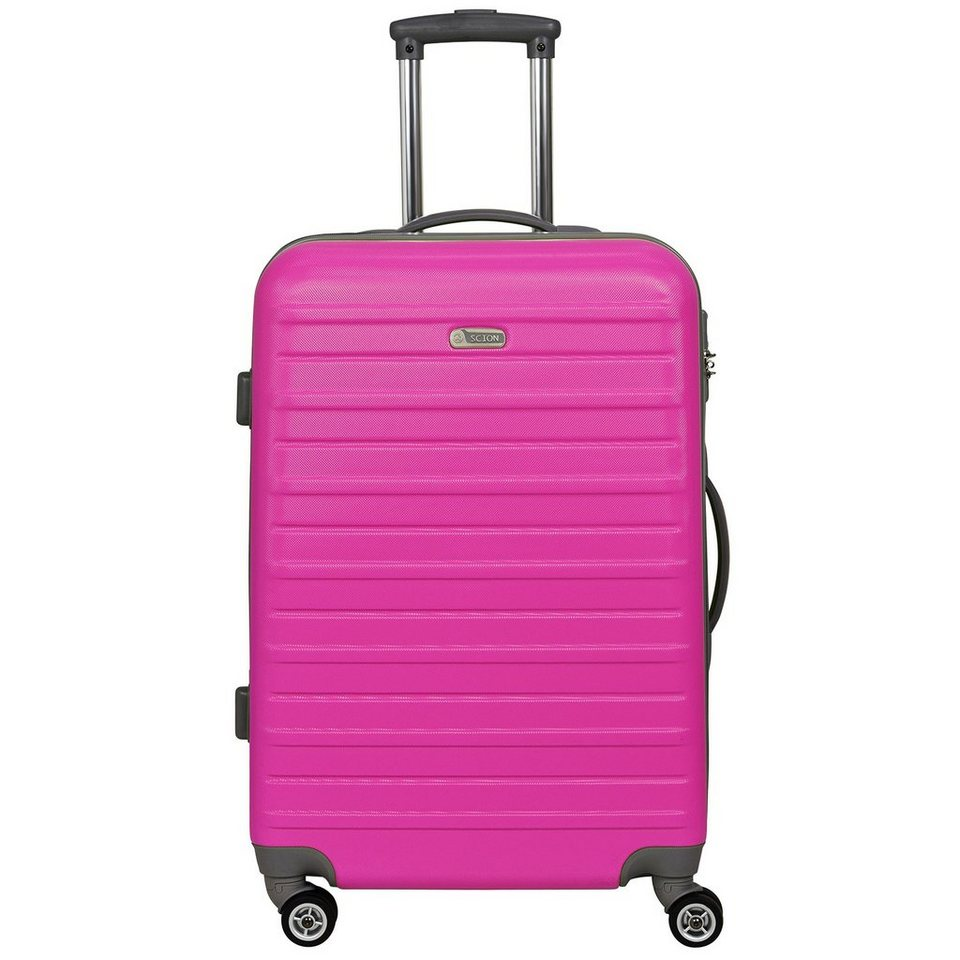 d & n Scion Travel Line 9400 4-Rollen Kabinentrolley 54 cm in pink