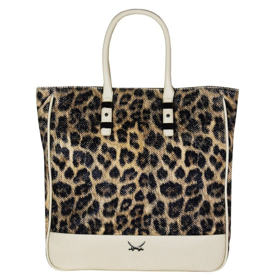 SANSIBAR Nature Shopper Tasche 40 cm in sandstorm