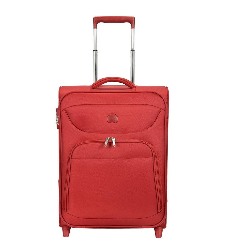 Delsey Lazare 2-Rollen Kabinentolley 55 cm in rot