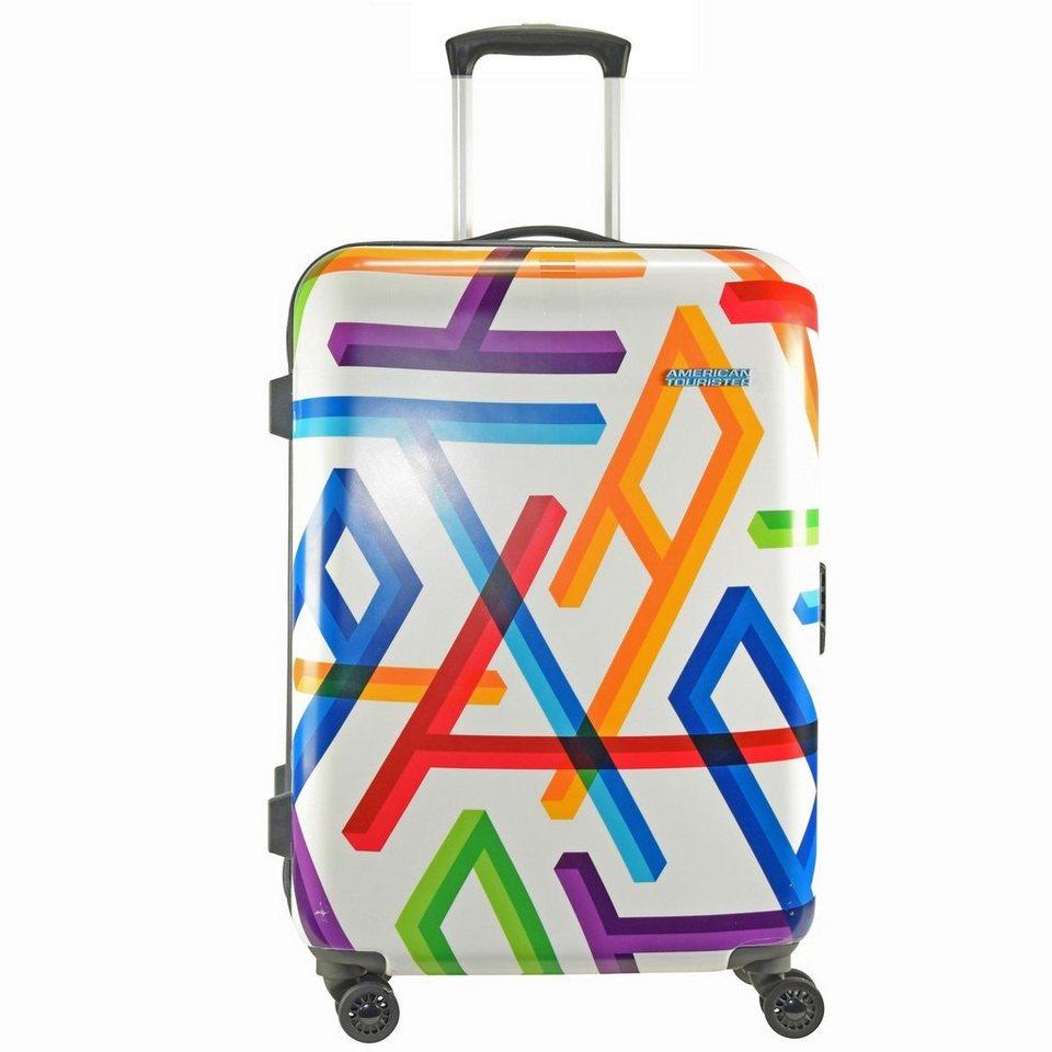 American Tourister Jazz 2.0 Spinner 4-Rollen Trolley 67 cm in geometric print
