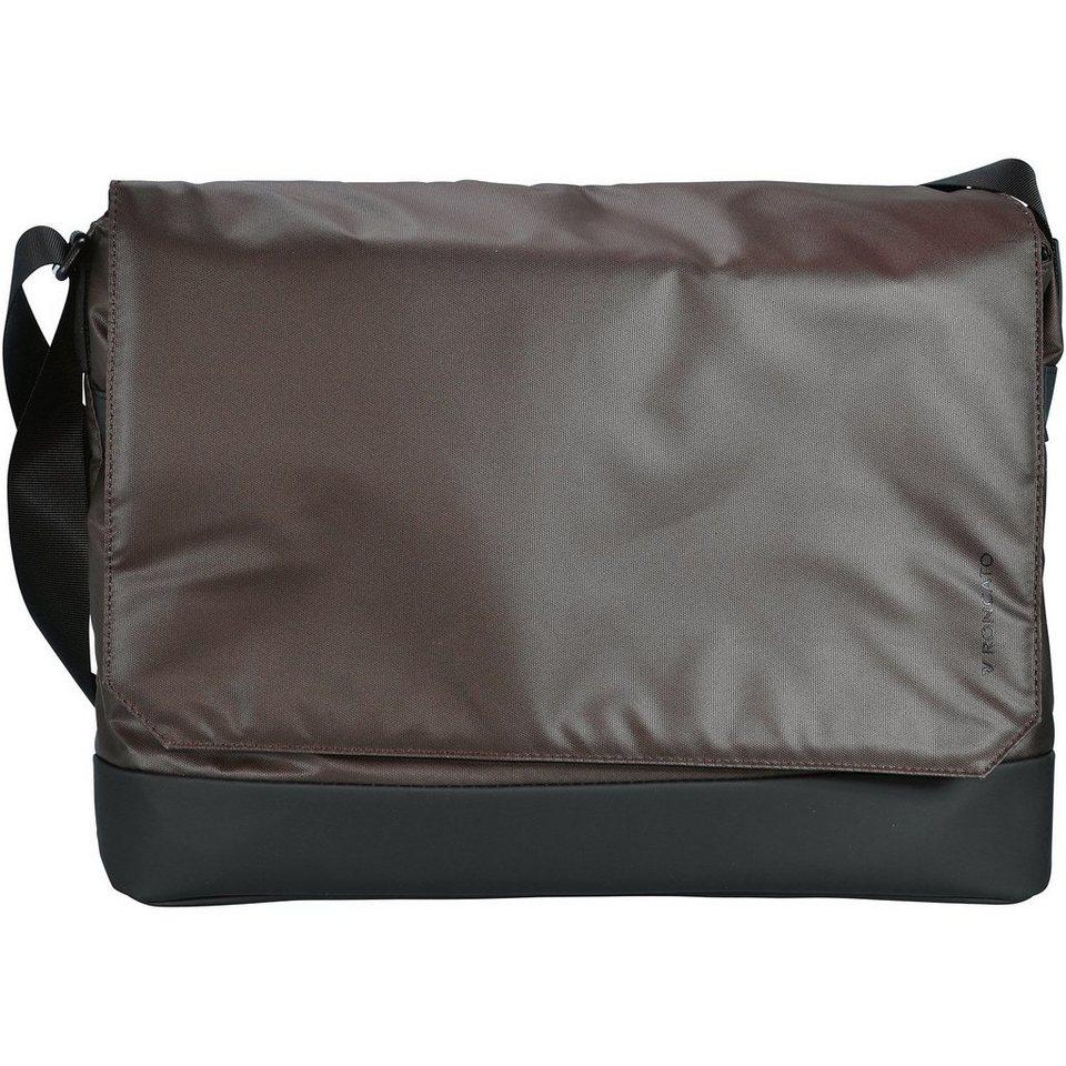 Roncato Roncato Oxford Messenger Business Tasche 41 cm Laptopfach in braun