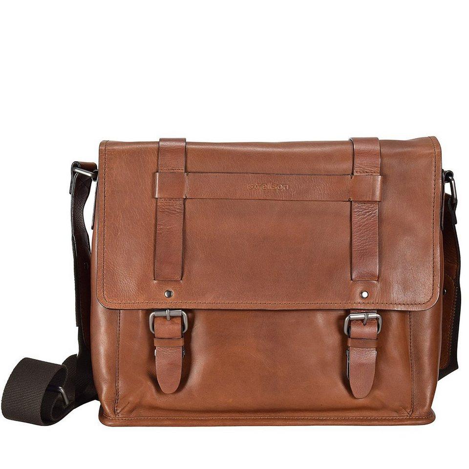 Strellson Strellson Harper Aktentasche Leder 40 cm Laptopfach in brown