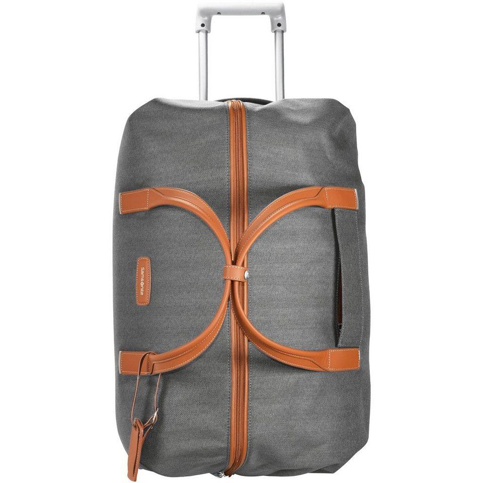 Samsonite Lite DLX 2-Rollen Reisetasche 55 cm in ash grey