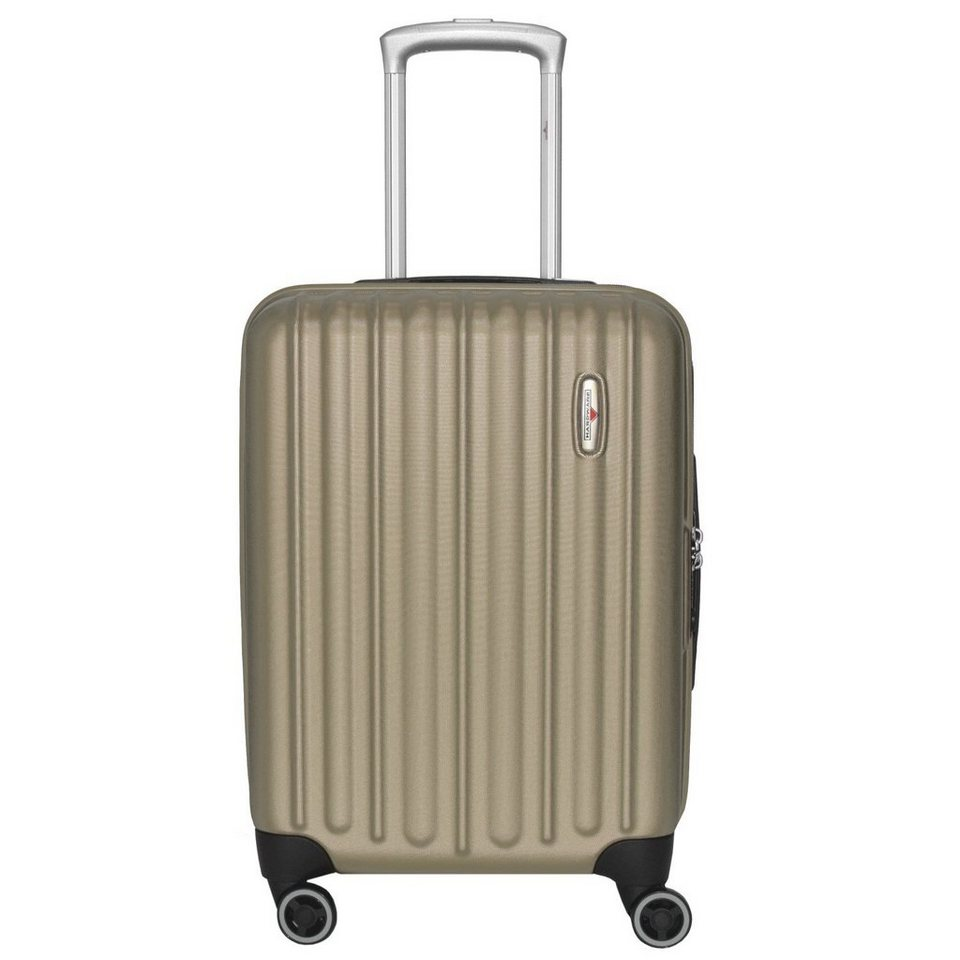 Hardware Profile Plus 4-Rollen Kabinentrolley 55 cm in champagner