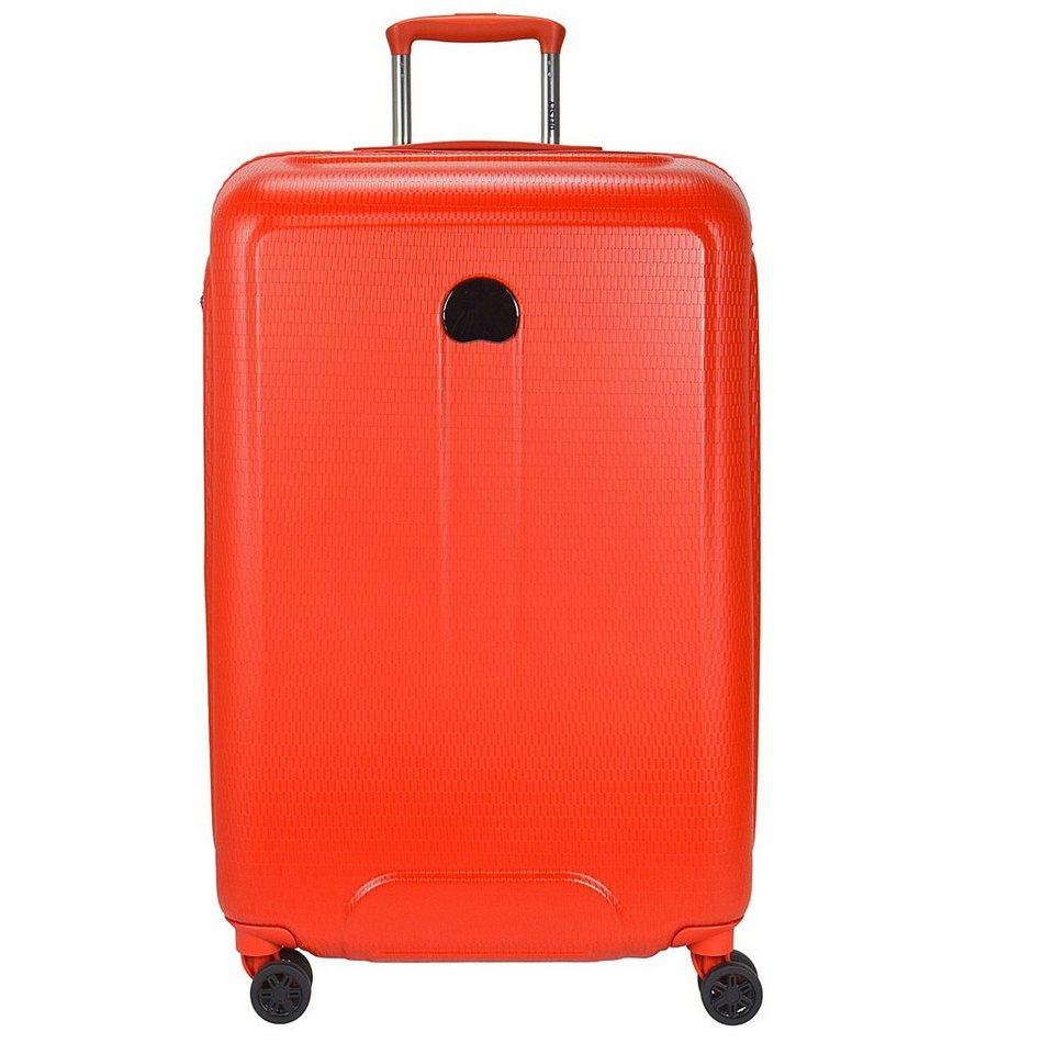 Delsey Delsey Helium Air 2 4-Rollen Trolley 76 cm in orange