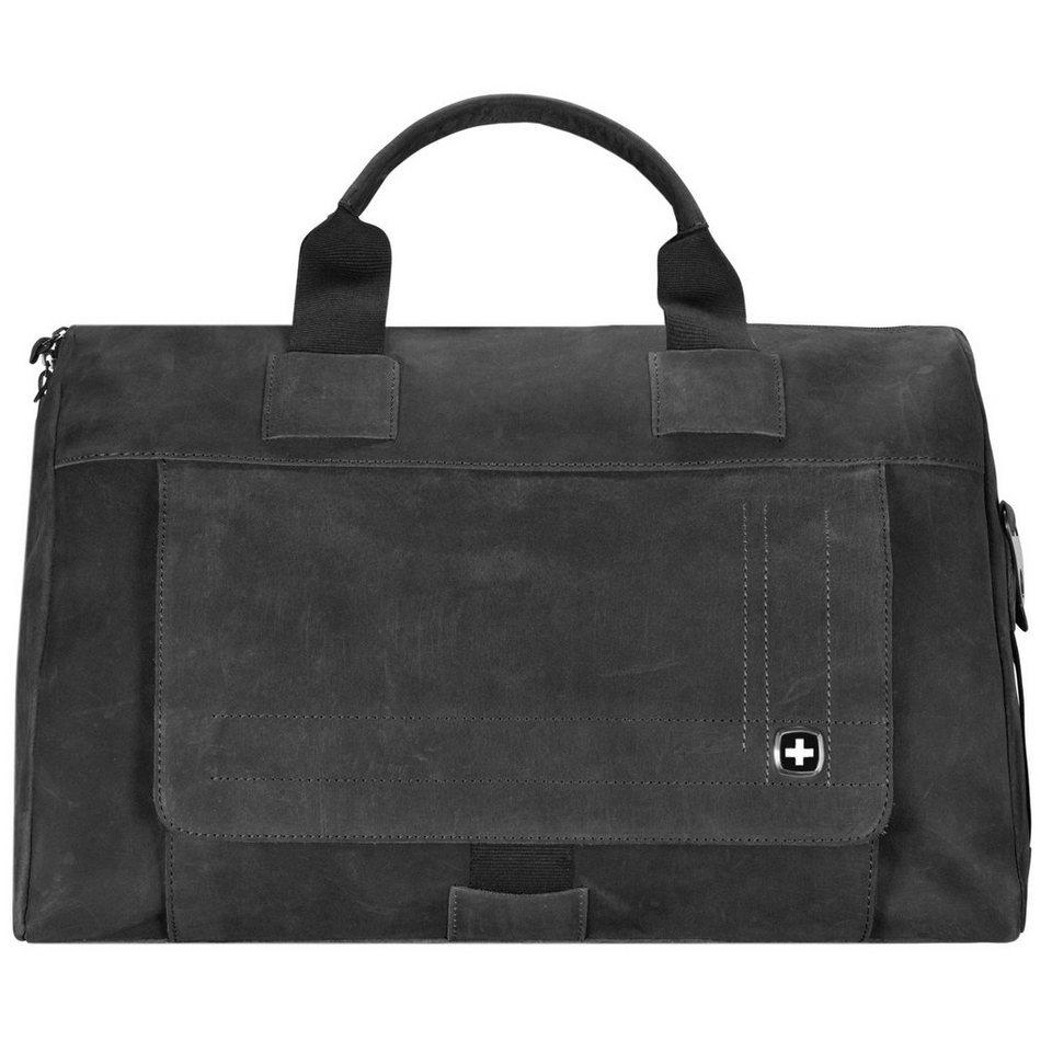 Wenger Sierra Nevada Reisetasche Leder 50 cm in schwarz