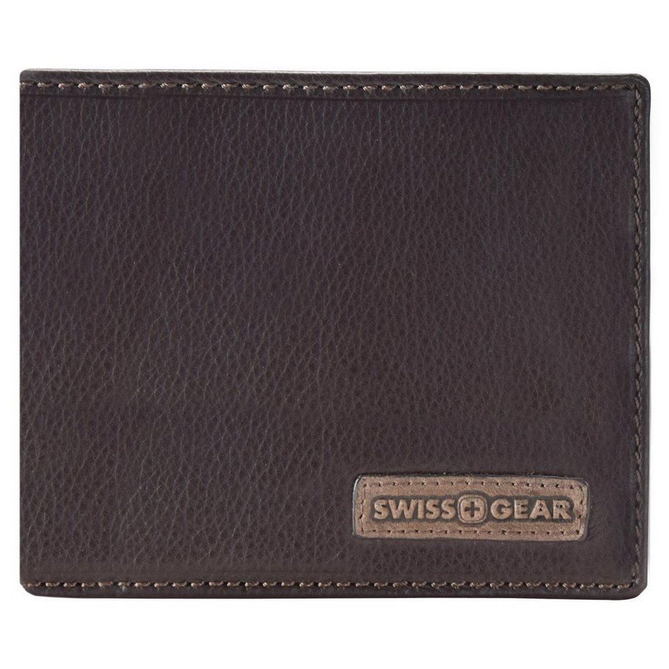 Wenger Swiss Gear Spot Geldbörse Leder 12 cm in braun