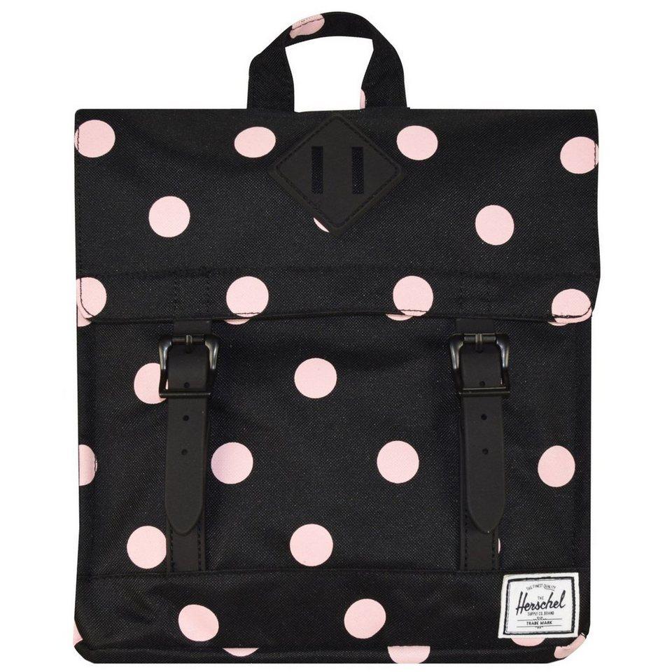 Herschel Survey Kids Rucksack 26,5 cm in pink polka dot-black