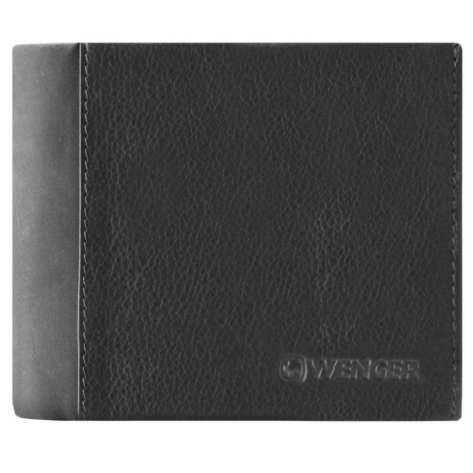 Wenger Wenger Nexus Geldbörse Leder 11,5 cm in schwarz