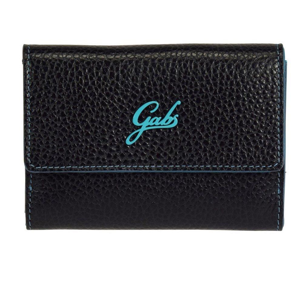 Gabs GMoney Geldbörse Leder 14 cm in black