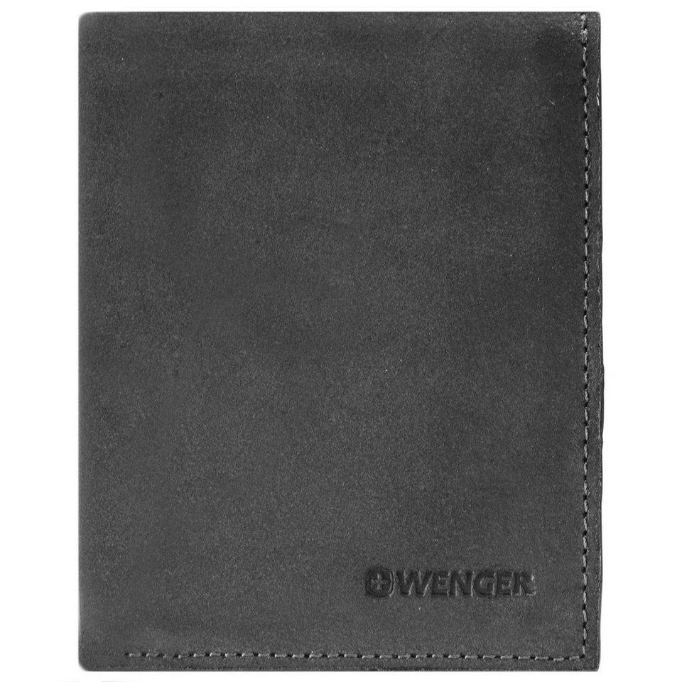Wenger Cloudy Geldbörse Leder 9,5 cm in schwarz