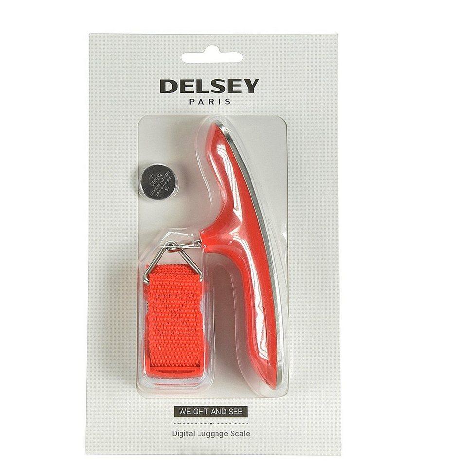 Delsey Delsey Accessoires Digitale Gepäckwaage in rot