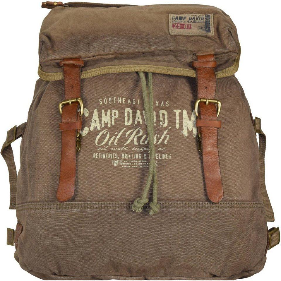 Camp David Camp David Wolf Creek Rucksack 44 cm Laptopfach in khaki