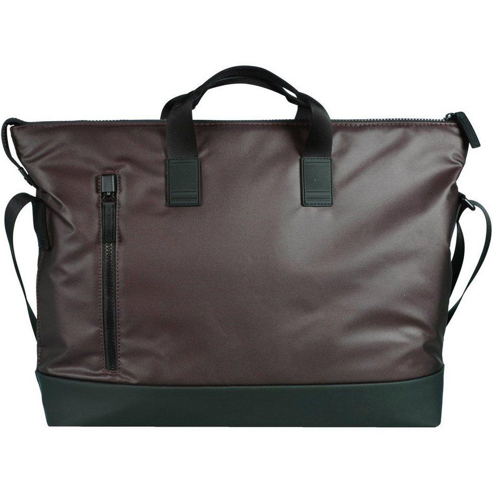 RONCATO Oxford Shopper Tasche 41 cm Laptopfach in braun