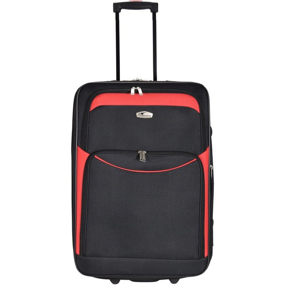 CHECK.IN CheckIn Ibiza 2-Rollen Kabinen Trolley 55 cm in rot