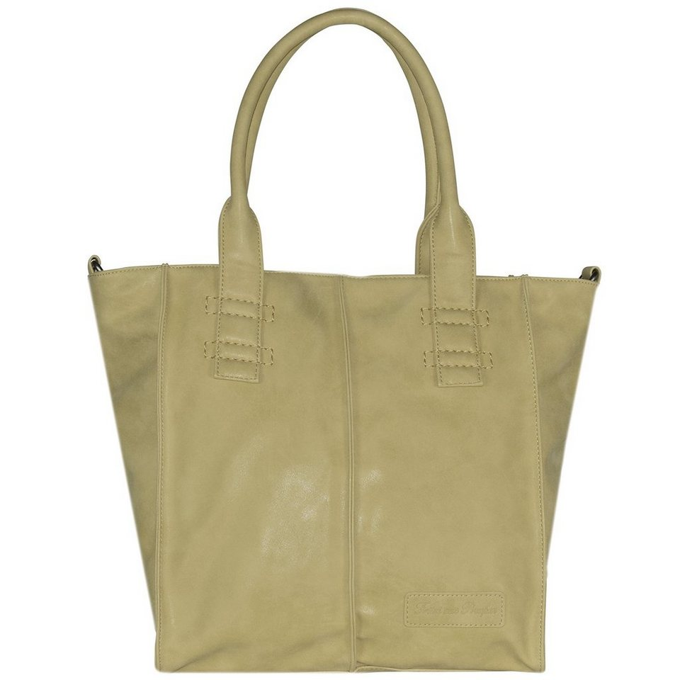 Fritzi aus Preußen Fritzi aus Preußen Anne Vintage Shopper Tasche 34 cm in sand