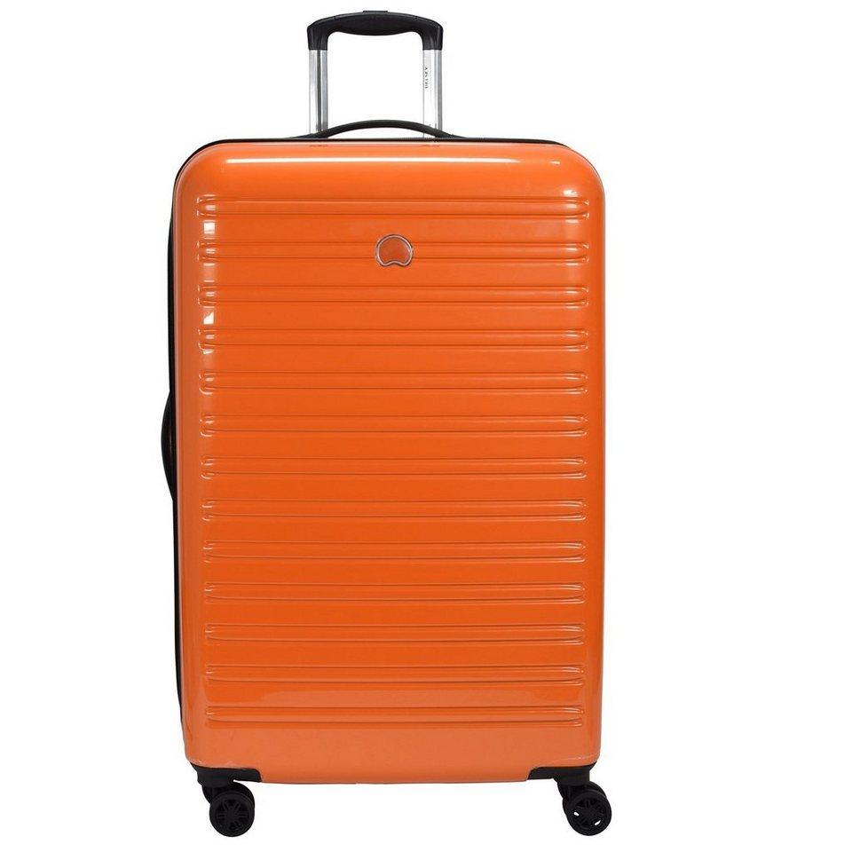 Delsey Delsey Segur 4-Rollen Trolley 78 cm in orange