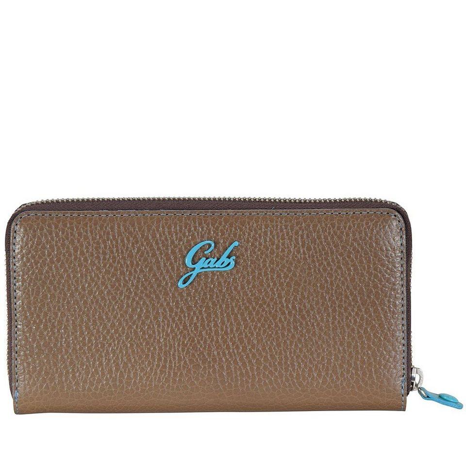 Gabs Gabs GMoney Geldbörse Leder 20 cm in brown
