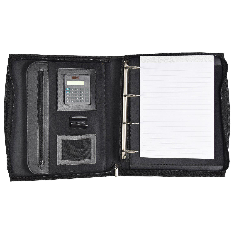 d & n Easy Business Schreibmappe Leder 30 cm