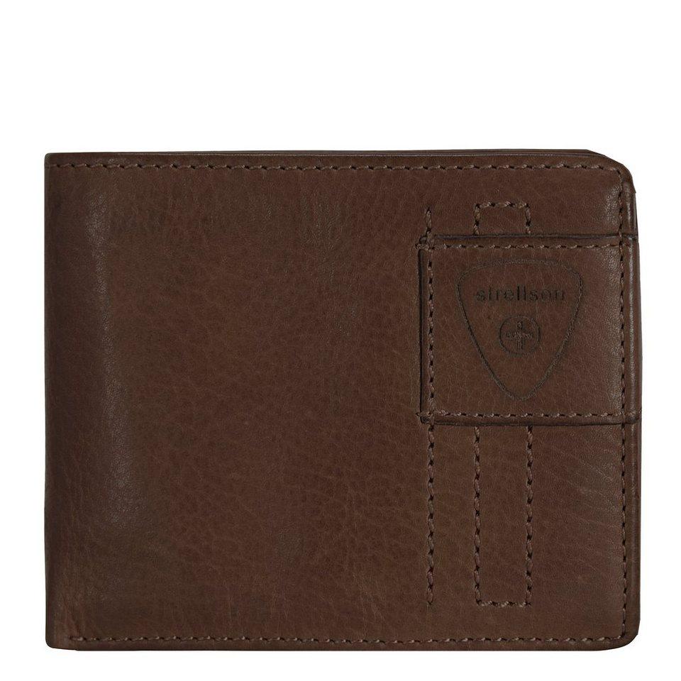 Strellson Upminster Geldbörse Leder 12 cm in dark brown