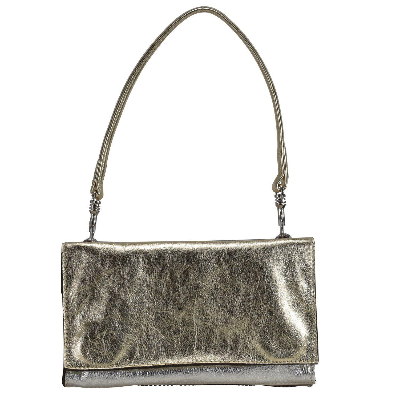 Caterina Lucchi Mini Bag Schultertasche Leder 24 cm