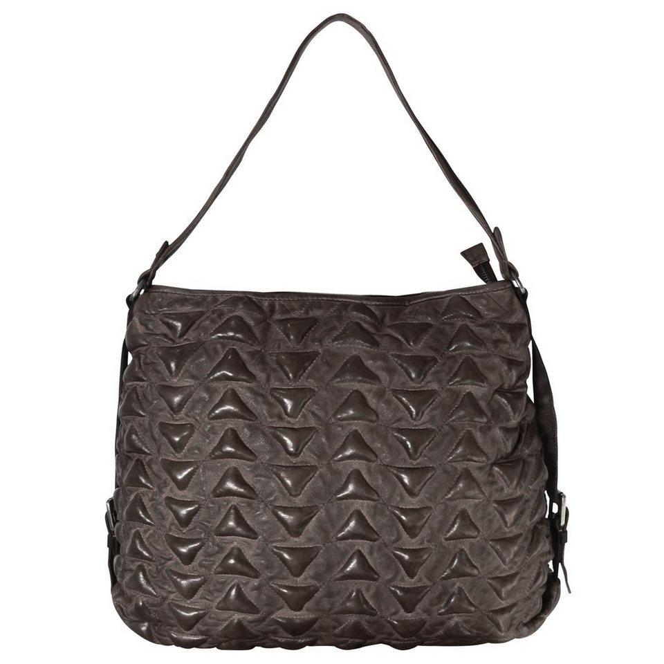 Billy The Kid Marokko Alia Triangle Shopper Tasche Leder 41 cm in brown