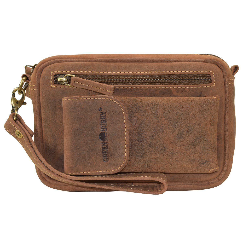 Greenburry Vintage Herrentasche Leder 22 cm