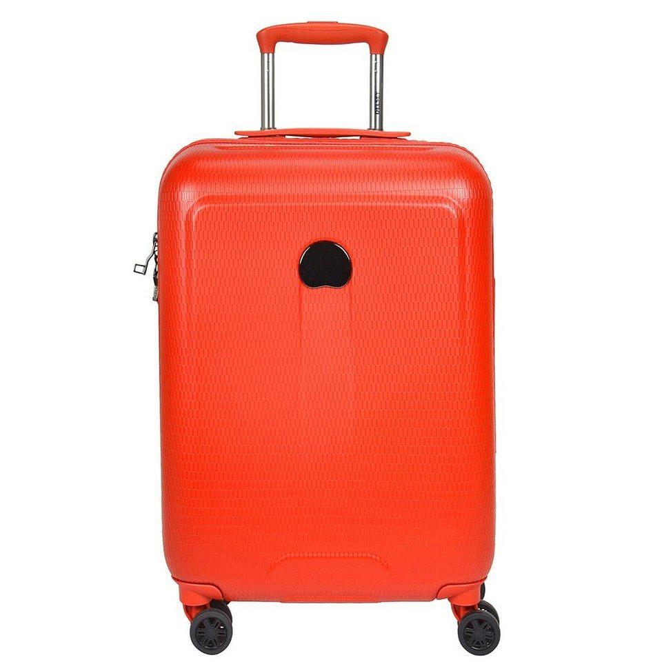 Delsey Helium Air 2 4-Rollen Trolley 64 cm in orange