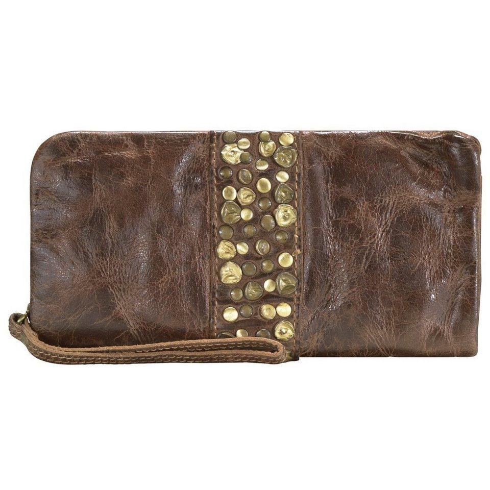 Billy The Kid Nelly Clutch Tasche Leder 20 cm in chocolate