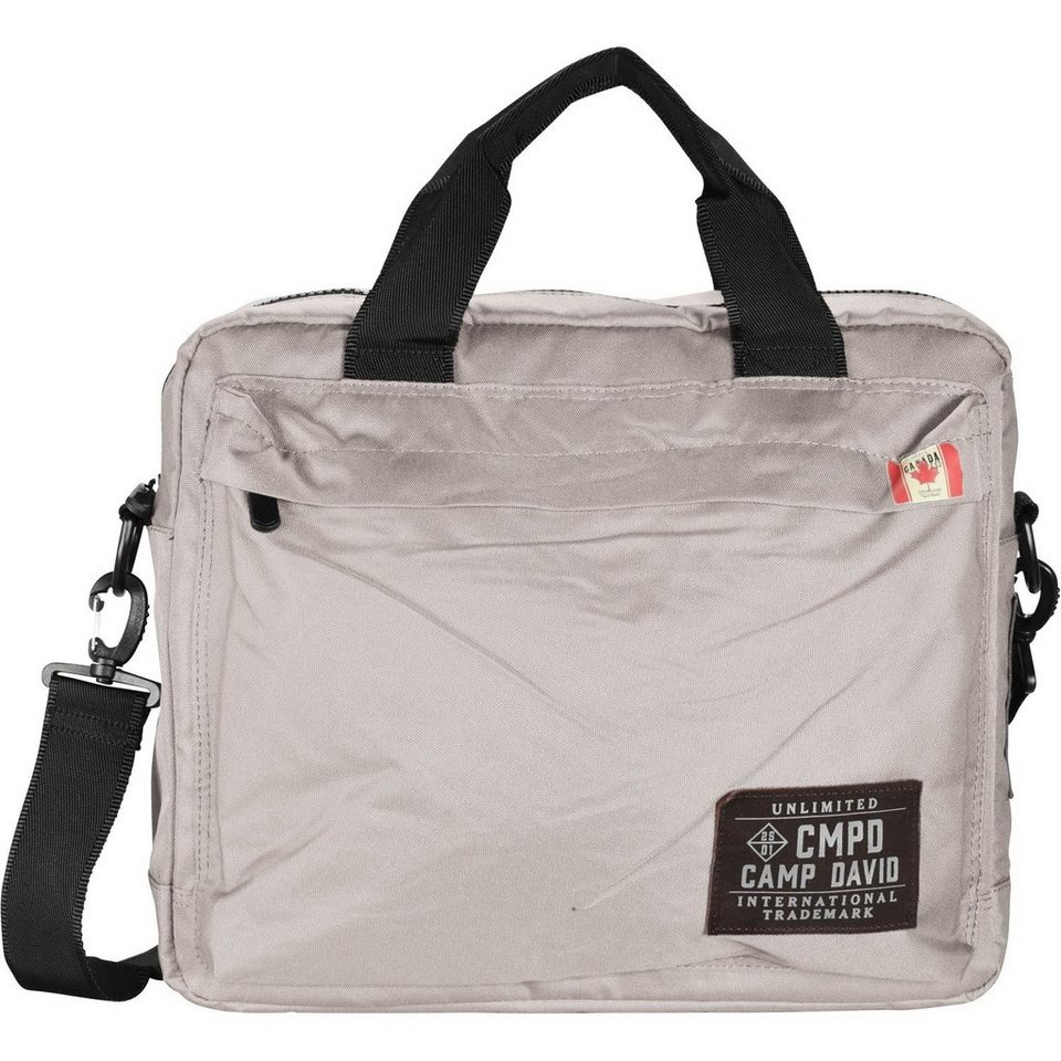 Camp David Camp David Clifton Business Tasche 40 cm Laptopfach in stein