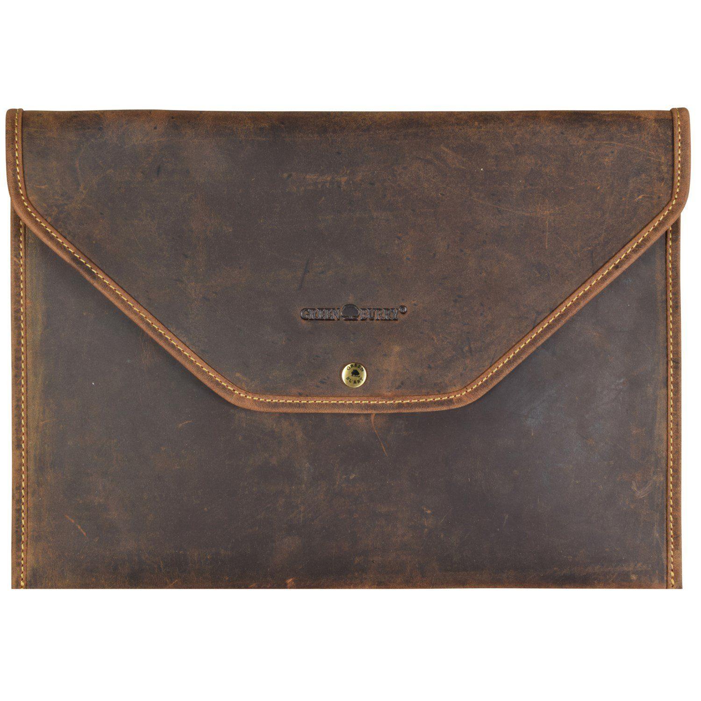 Greenburry Vintage Collegemappe Leder 35,5 cm