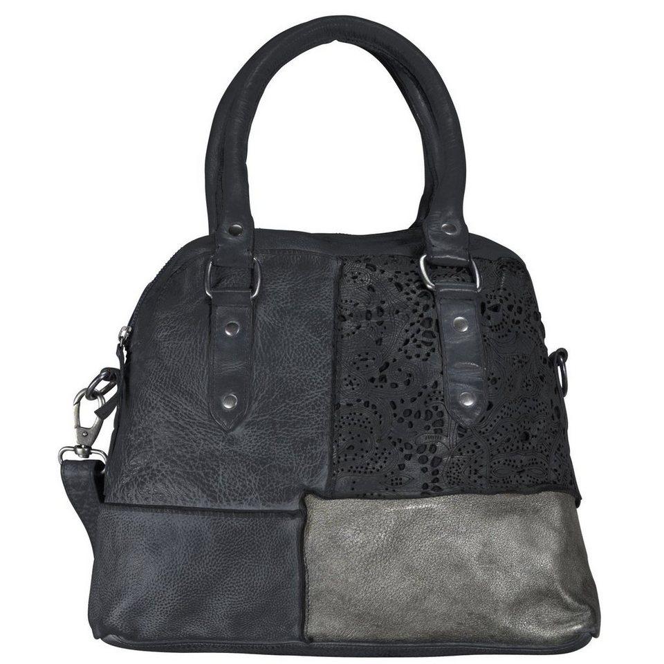 Billy The Kid Culture-Mix Penelope Shopper Tasche Leder 35 cm in anthrazite