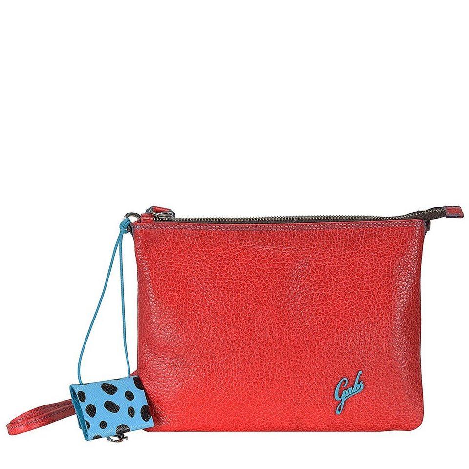 Gabs Beyonce S Umhängetasche Leder 23 cm in red