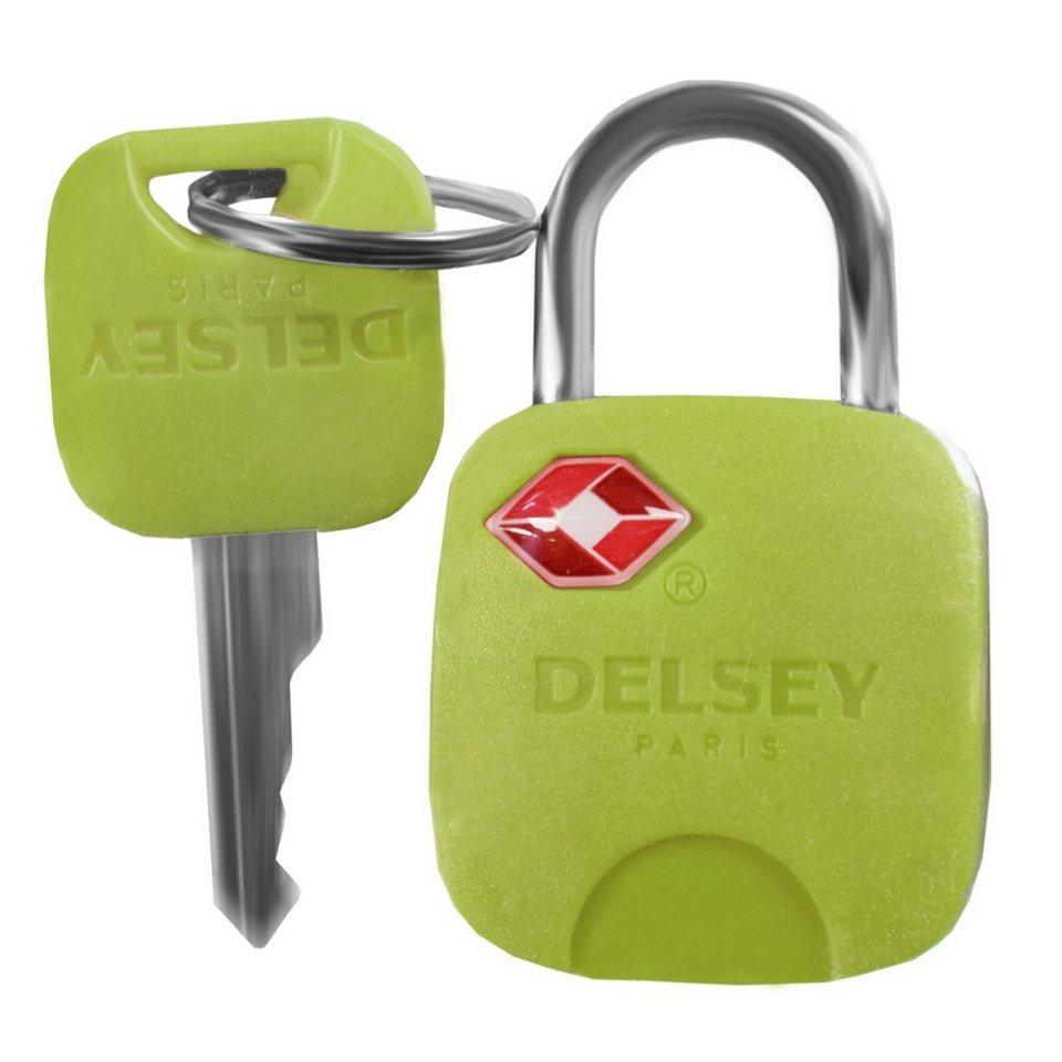 Delsey Accessoires Vorhängeschloss TSA in hellgrün