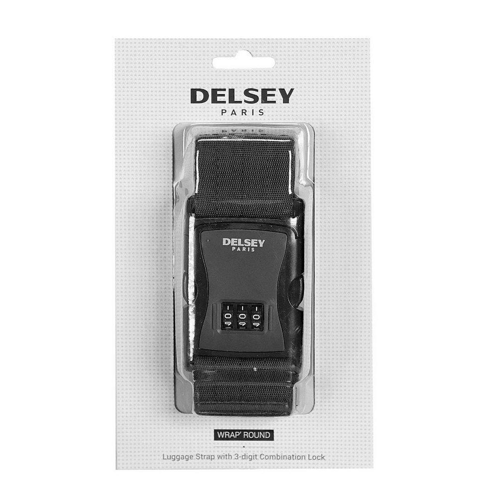 Delsey Accessoires Gepäckgurt 6 cm in schwarz