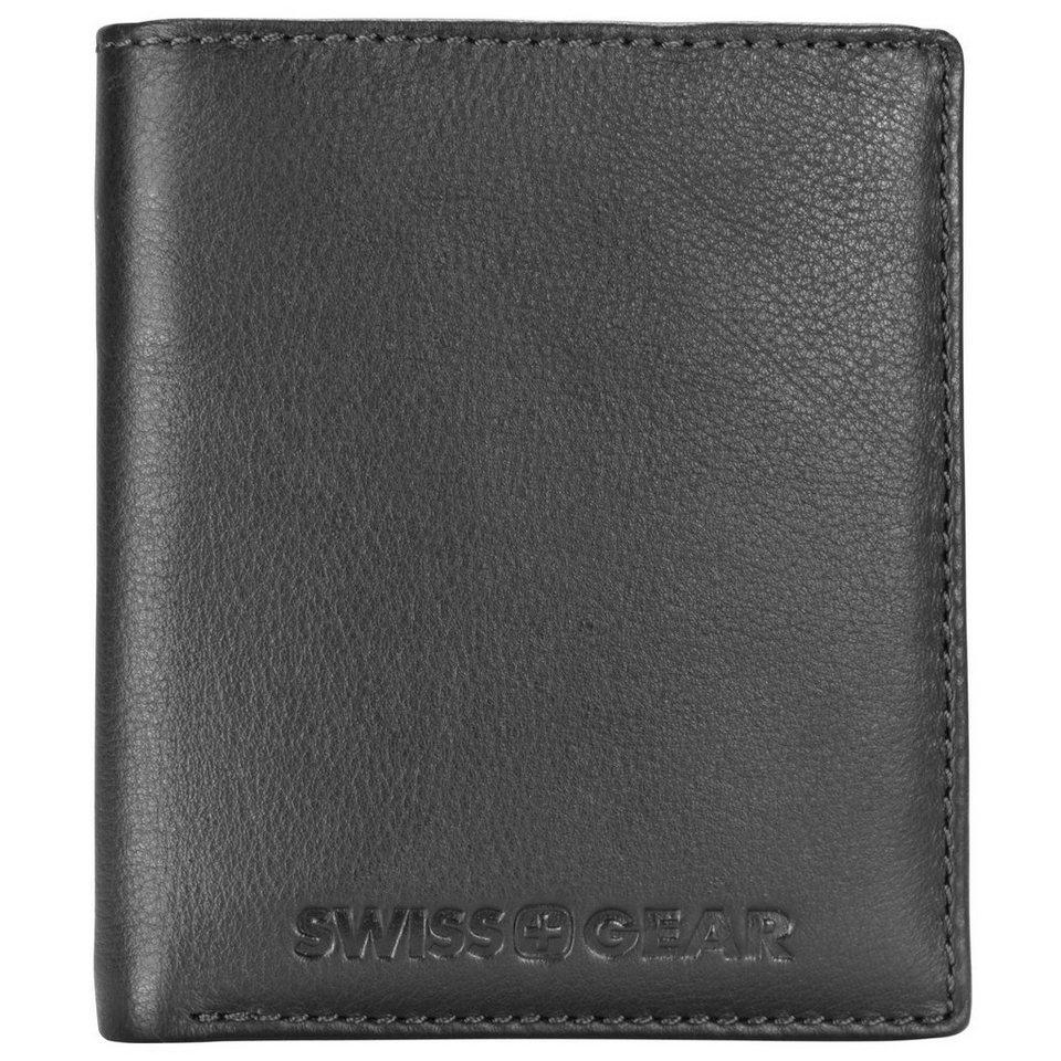 Wenger Swiss Gear Expression Geldbörse Leder 10,5 cm in schwarz