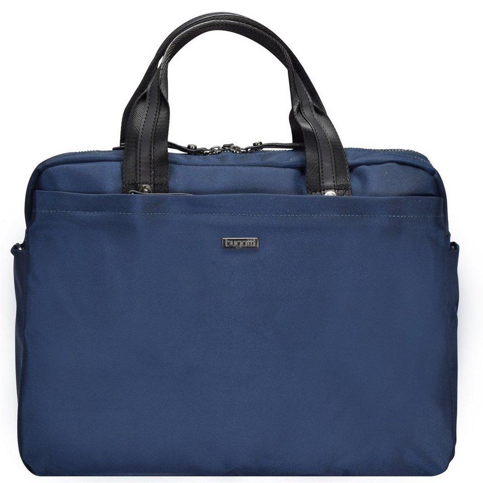 Bugatti bugatti Contratempo Aktentasche 39 cm Laptopfach in blau