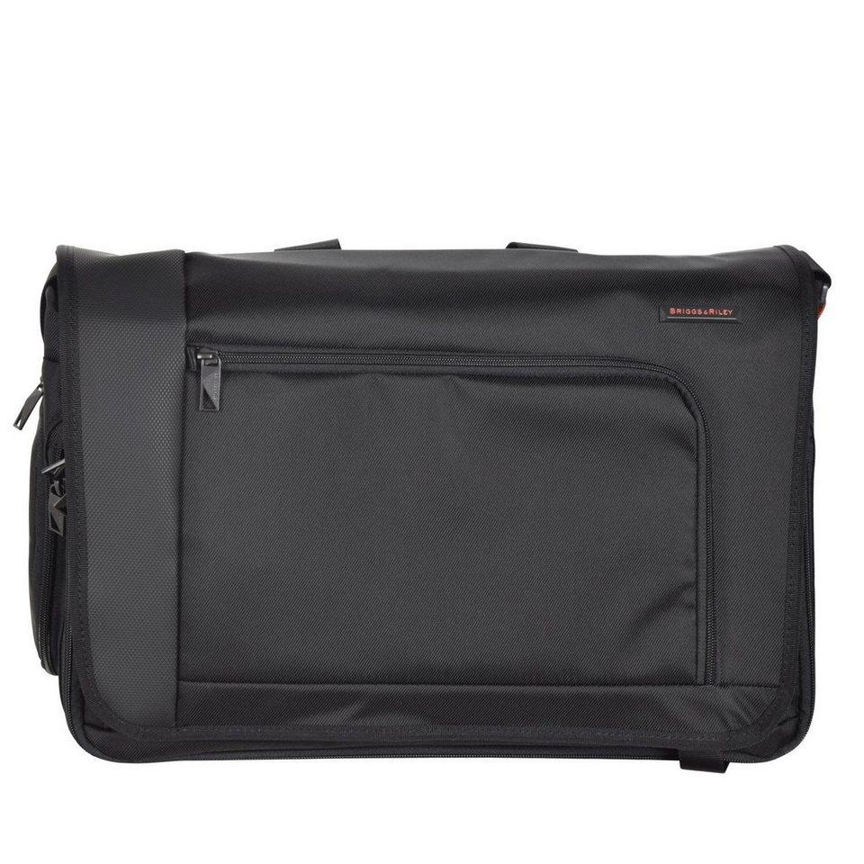 Briggs&Riley Verb Messenger 44 cm Laptopfach in black