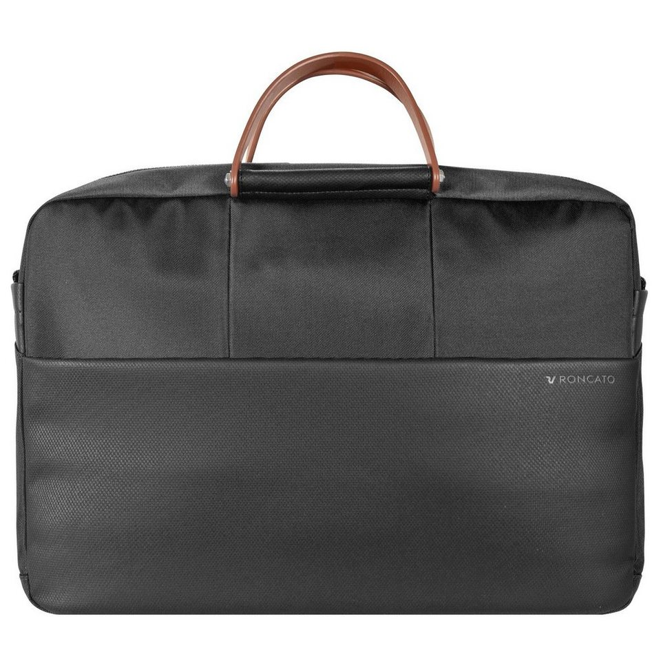 RONCATO Wireless Aktentasche 42 cm Laptopfach in nero