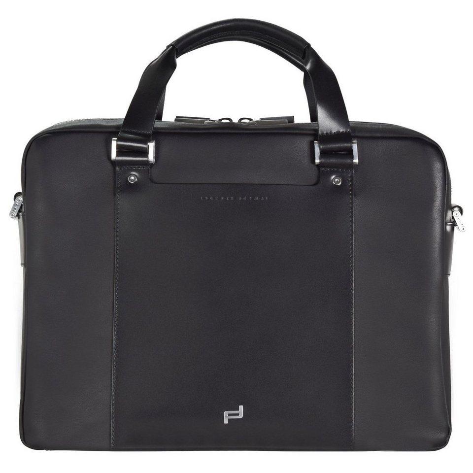 porsche design shyrt leather briefbag mz2 aktentasche. Black Bedroom Furniture Sets. Home Design Ideas