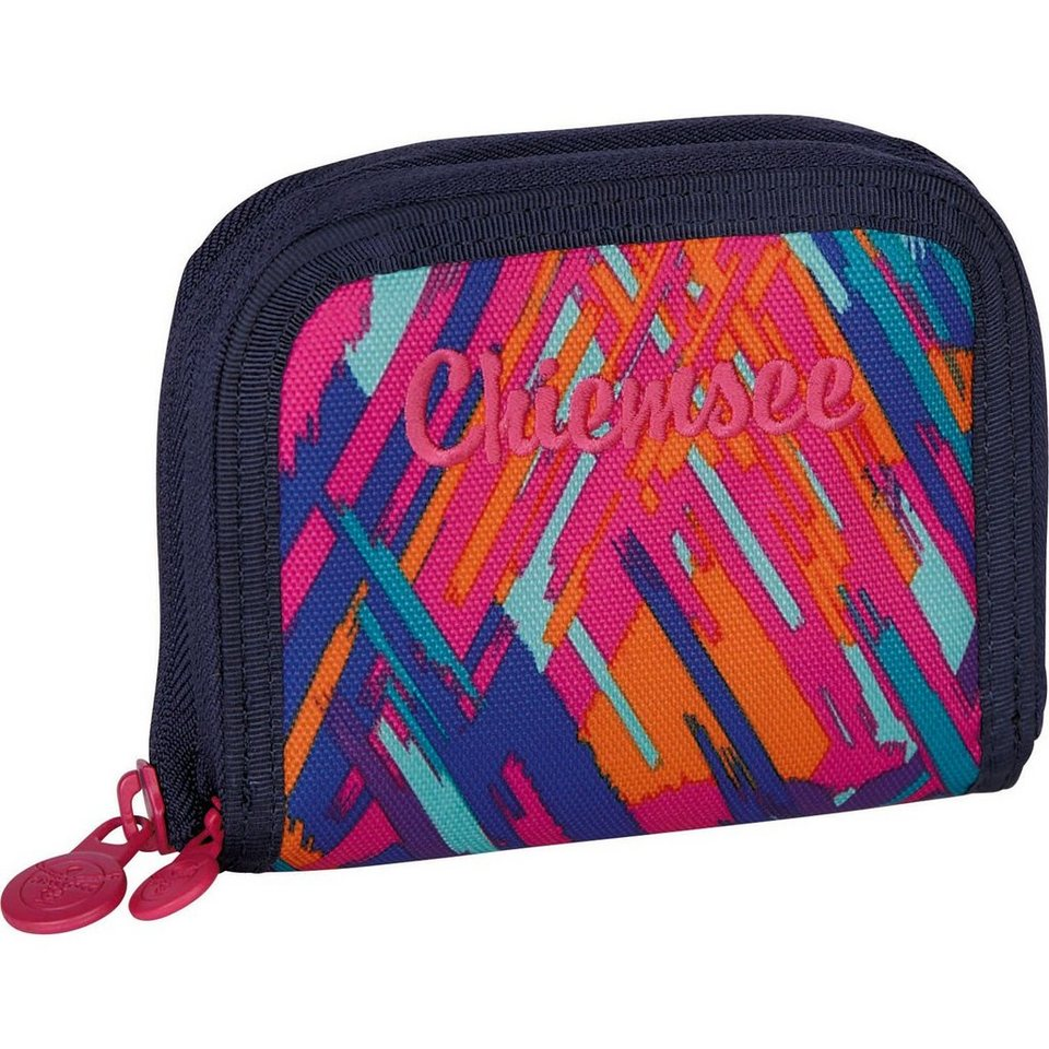 Chiemsee Sport 15 Twin Zip Wallet Geldbörse 11,5 cm in ethno splash