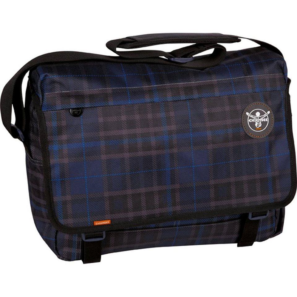 Chiemsee Sport 15 Shoulderbag Large Messenger 39 cm in check black